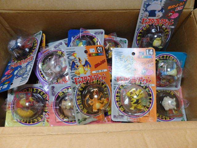 【本日の仕入れ】おもちゃせどり ポケモンモンコレ 90点、9,550円なり