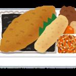 【本日のせどり飯】ほっともっとののり弁とタルタルソースと特製豚汁(2017/02/01)