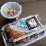 【本日のせどり飯】ほっともっとののり弁とタルタルソースと特製豚汁(2017/02/09)