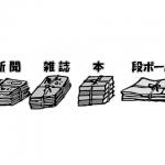 【ちり紙交換せどり】古紙(古本、雑誌)の計量方法について